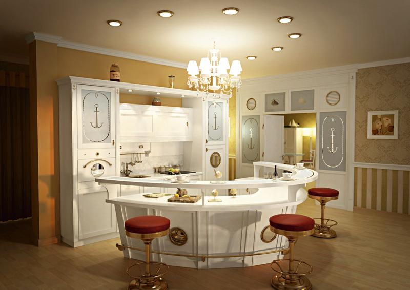 Mostradores de cocina en la decoraci n ideas para - Disenos de mostradores ...