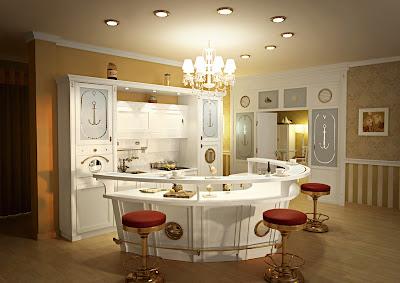 mostrador de cocina