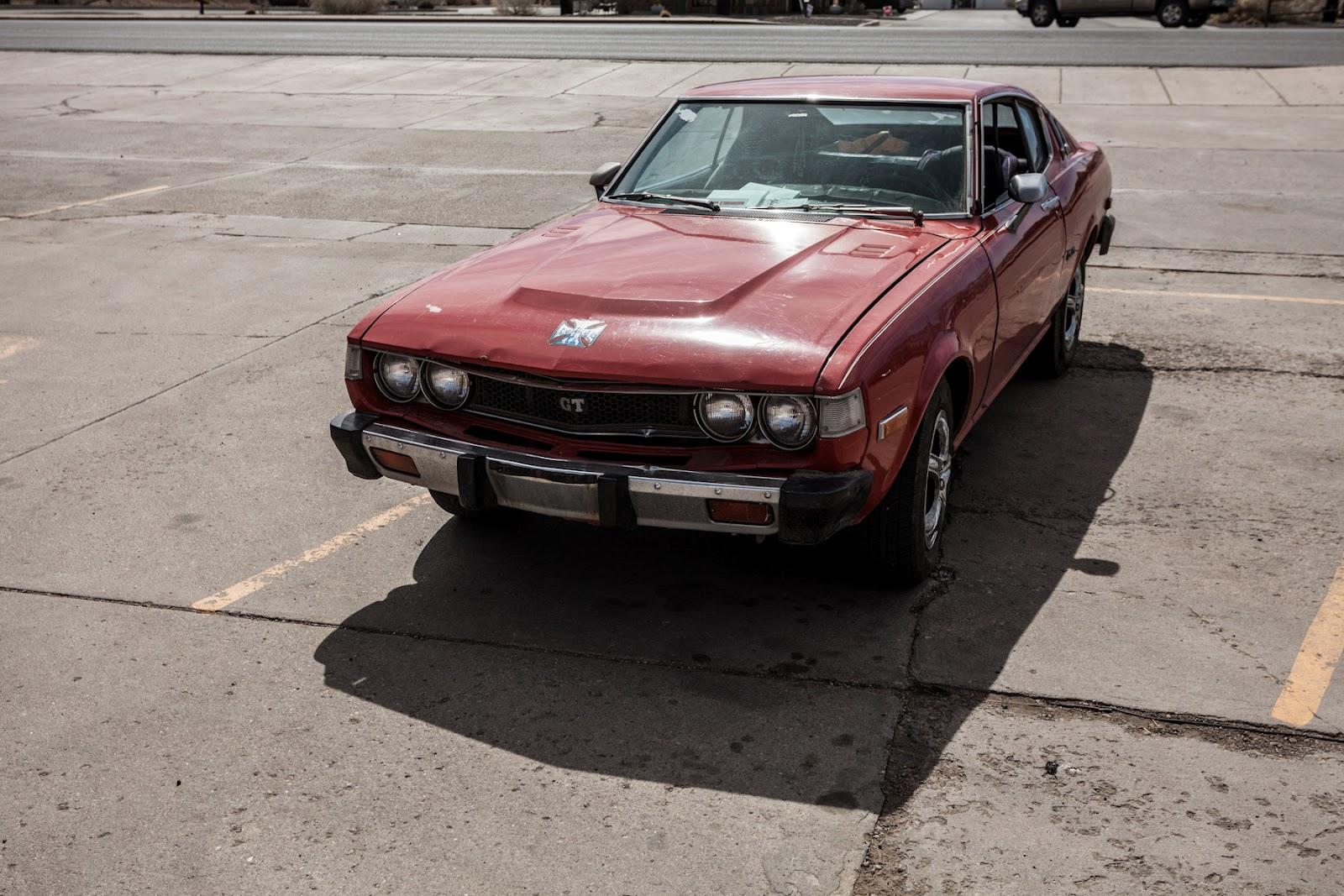 The Street Peep 1976 Toyota Celica Gt Liftback 1973