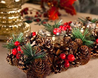 Christmas Centerpieces with Pineapples Part 2