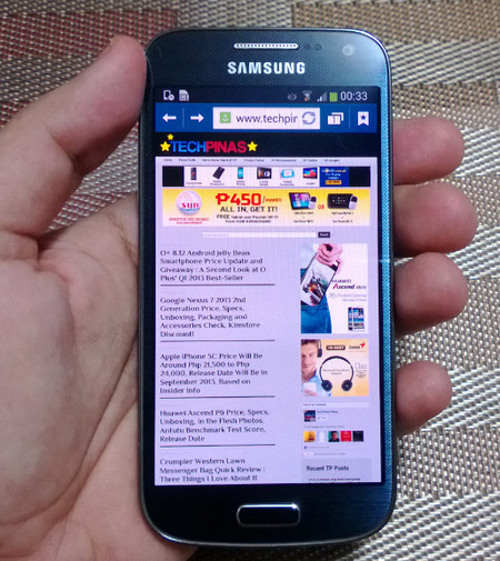 ... those stellar smartphones? Whom is Samsung Galaxy S4 Mini for exactly