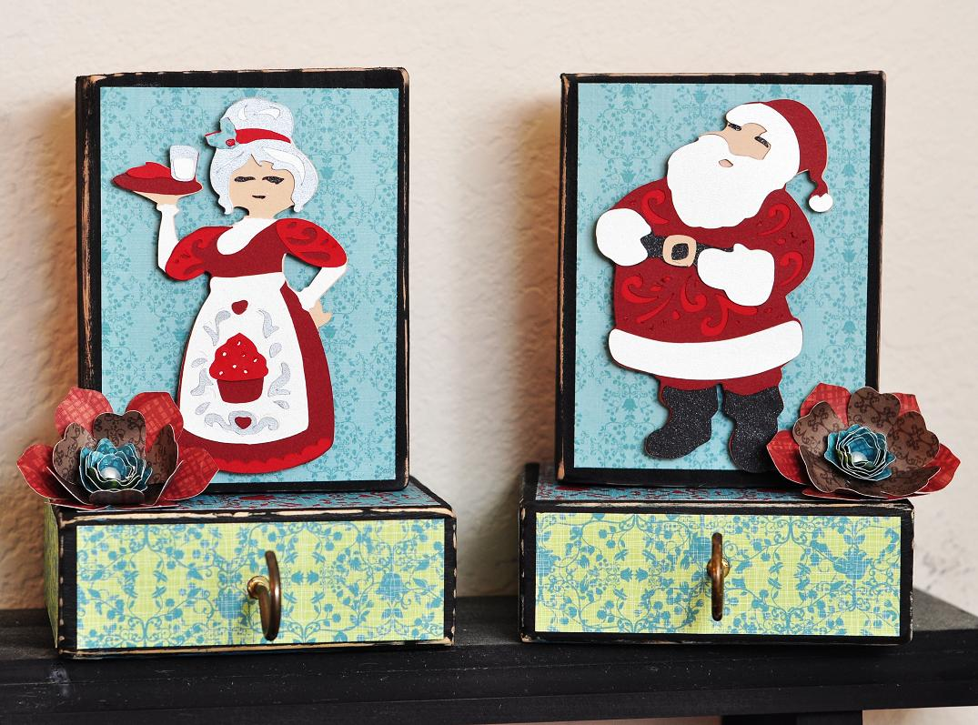 Ginger Williams: A Cricut Quilted Christmas and a Stamping System ...