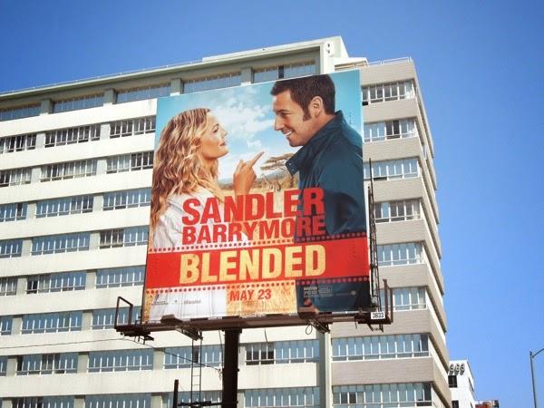 Blended movie billboard