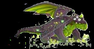 imagen del dragon toxico de dragon city