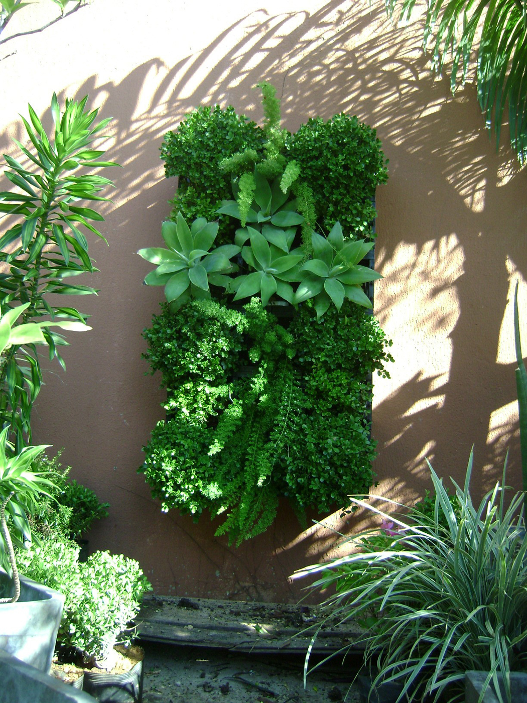 kit jardim vertical wallgreen