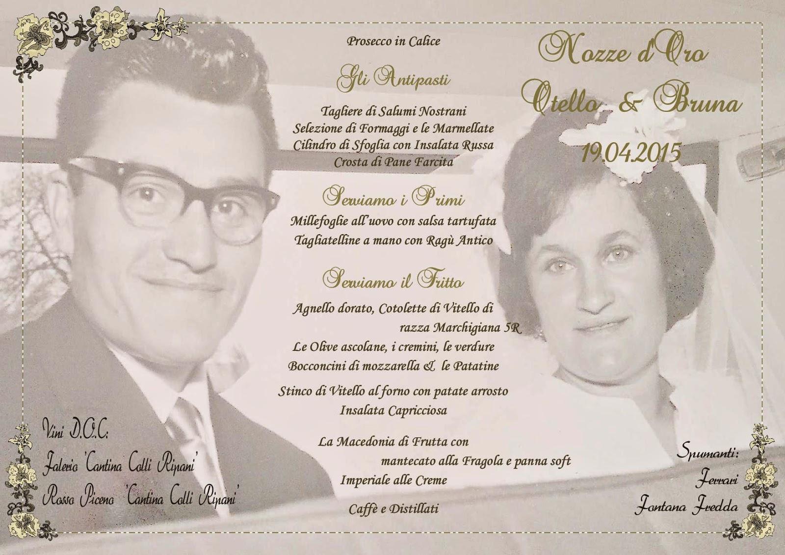 50 Anniversario Di Matrimonio Vacanza Marche