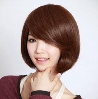 rambut-pendek-wanita-korea