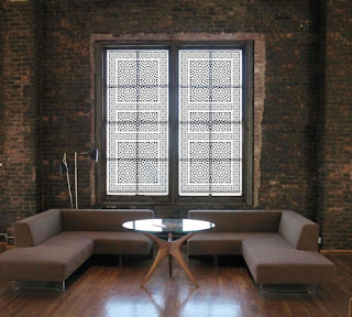 Moorish Design Window Covering