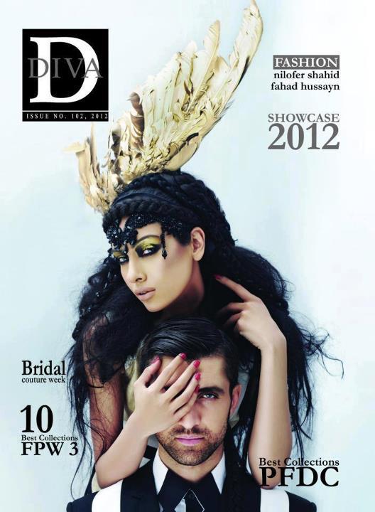 Fahad Hussayn ParaNoir Collection | PARANOIR Exclusively DIVA magazine Shoot 2012