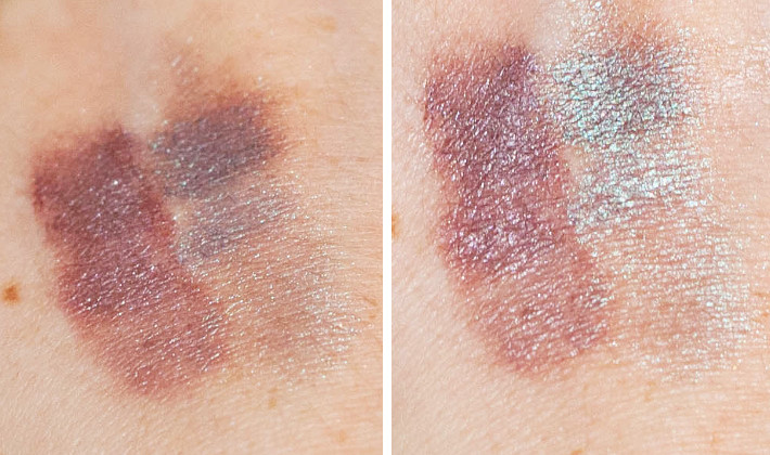 Review and swatches: Shiro Cosmetics Mother of Dragons and Largest Moon of Still not a Planet