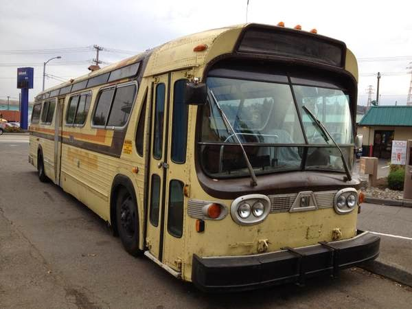 Used rvs 1982 gmc diesel bus motorhome conversion for sale for Motor city party bus