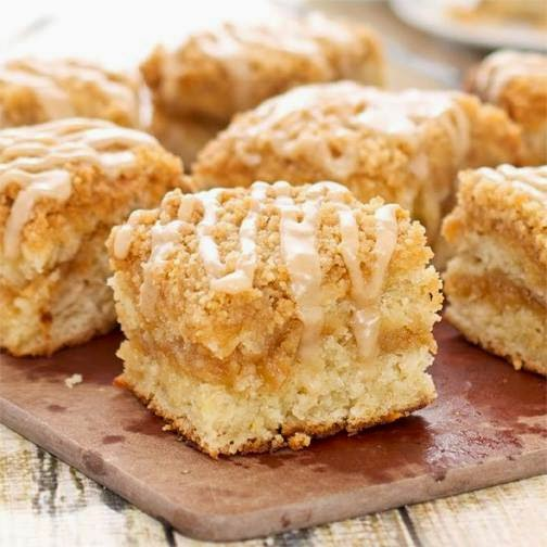 Buttermilk Apple Crumb Cake