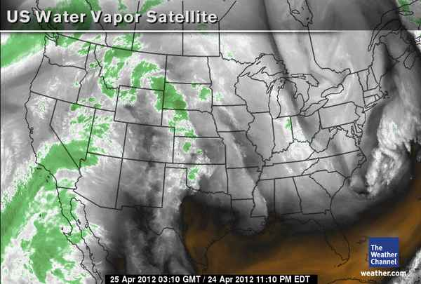 the vapor map