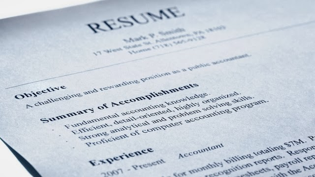 what - The Objective On A Resume