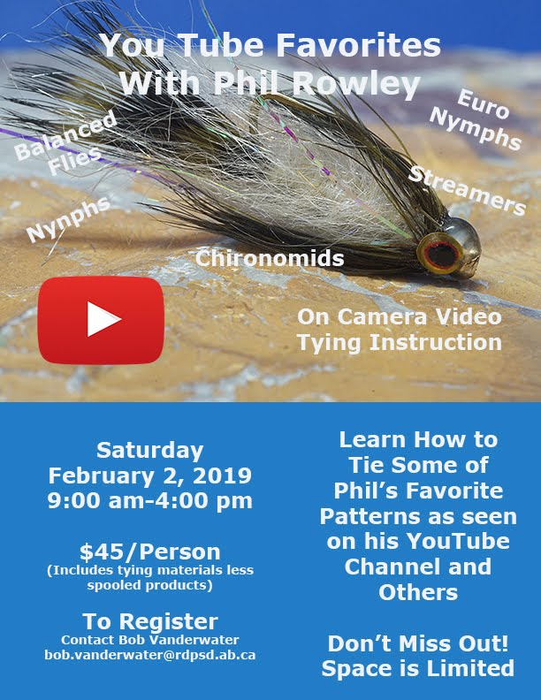 All Day Fly Tying with Phil Rowley