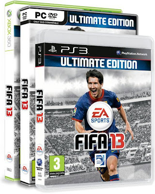 FIFA 13 Ultimate Edition - XBOX 360, PC & PS3