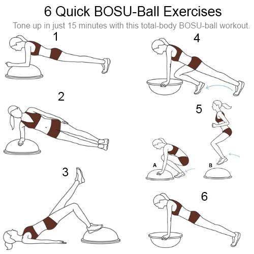 Bosu Ball Total Body Workout: Losing 4 Luke: Best 6 BOSU Exercises