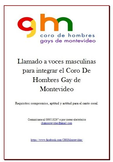 Coro de Hombres Gays de Montevideo