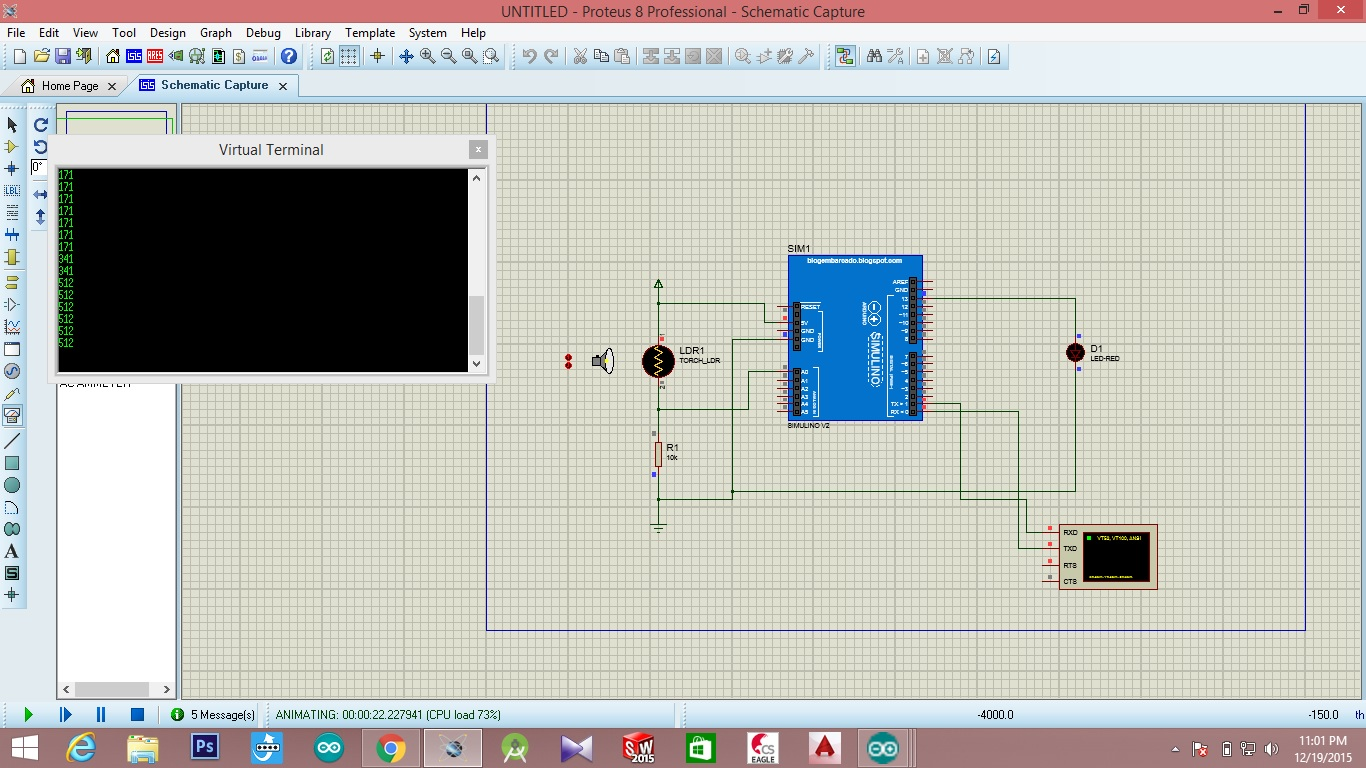 Arduino Code Circuit Diagram Ldr Controller The Here