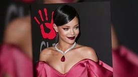 Rihanna brille comme un diamant à son Diamond Ball