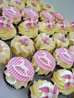 Rocking Horse Cupcakes