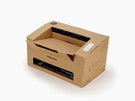Impresora Laser de Carton, Propuesta Ecologica de Samsung