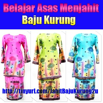 Panduan Cara Menjahit Baju Melayu