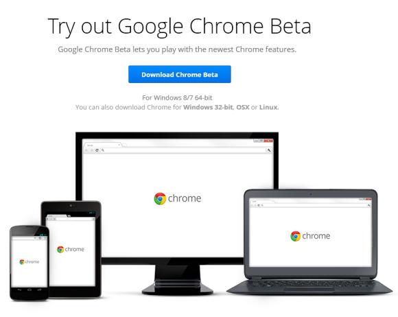 64-Bit Chrome for Windows, Now in Beta