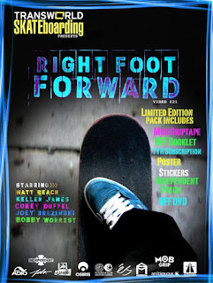 Transworld Skateboarding - Right Foot Forward