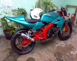 Modifikasi Honda NSR 150