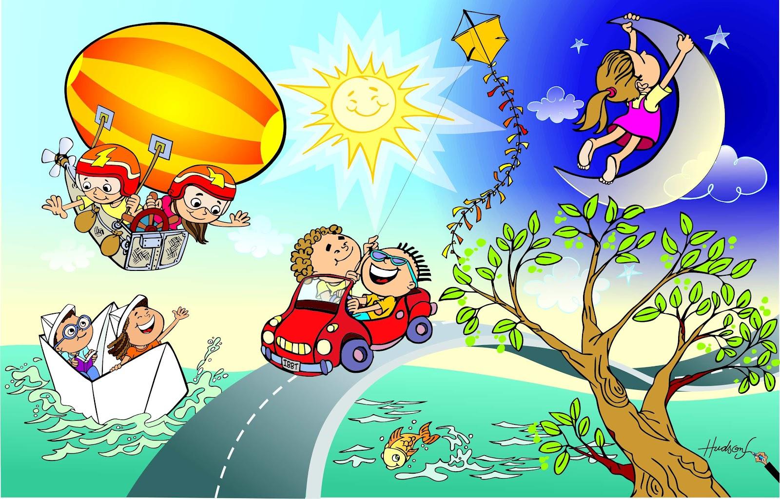 Traço Original: Desenhos 'mundo infantil'