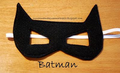 Batgirl Mask Template Diy