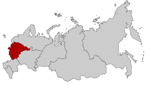 Harita81- merkez federal bölgesi, rusya