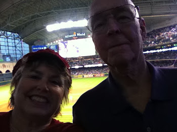 LAST NIGHT IN HOUSTON AND WATCHED THE BRAVES POUND THE ASTROS AT MINUTE MAID PARK 061011