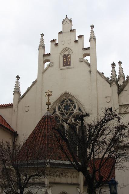 Синагога, Прага, Чехия.