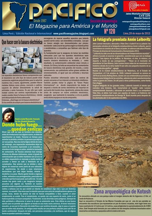 Revista Pacífico Nº 120 Arqueología