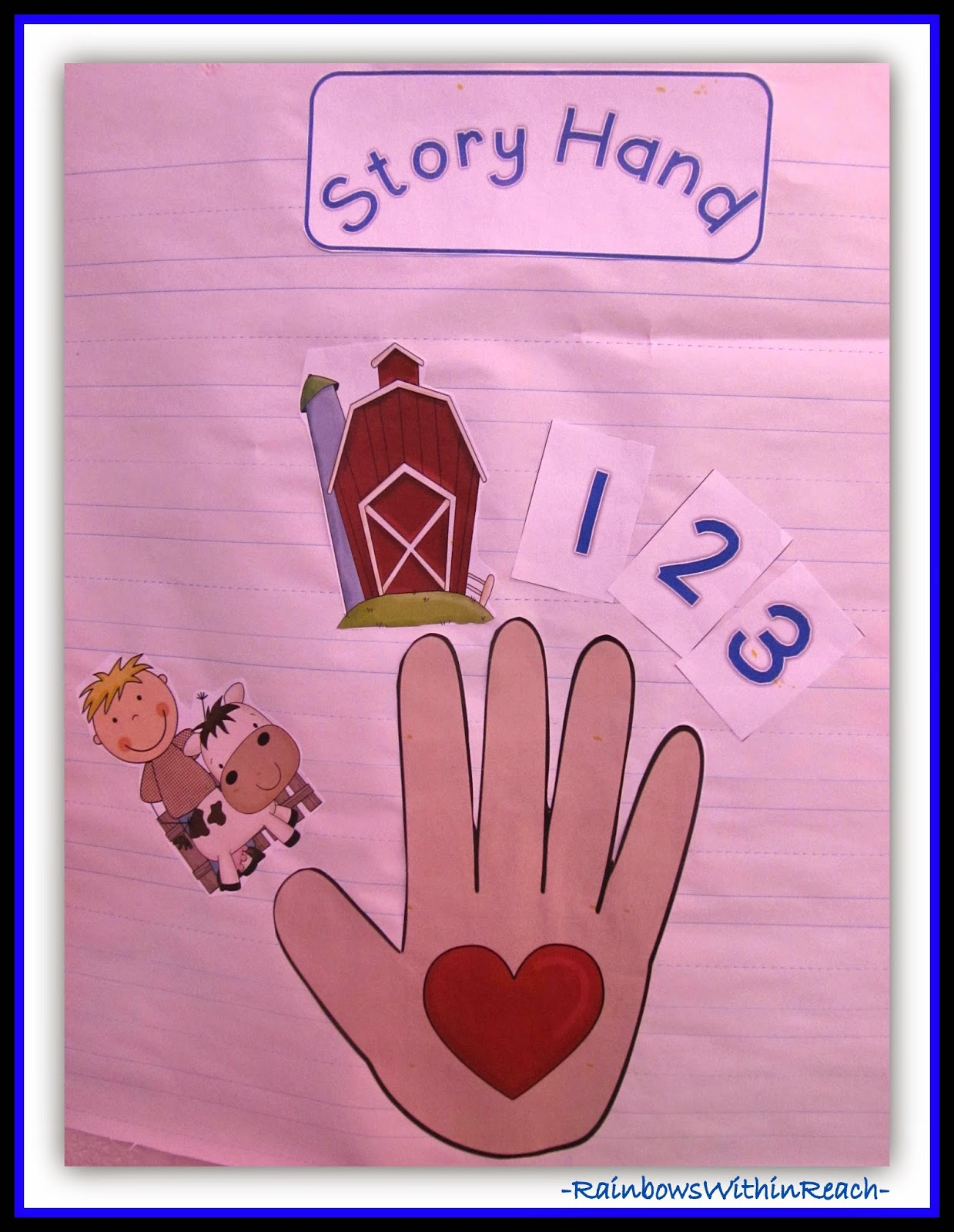 Hand as Storytelling Devise {RoundUP of Hands at RainbowsWithinReach}