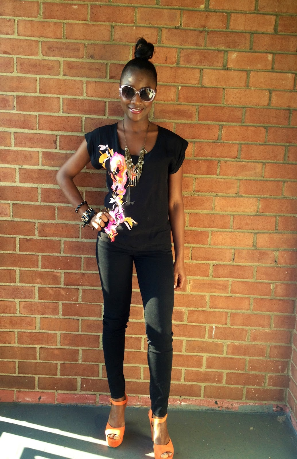 Personal Style Top Knots And Summer Statement Shoes