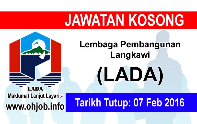 Jawatan Kerja Kosong Lembaga Pembangunan Langkawi (LADA) logo www.ohjob.info februari 2016