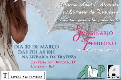 Lançamento de Imaginário Feminino no Rio de Janeiro