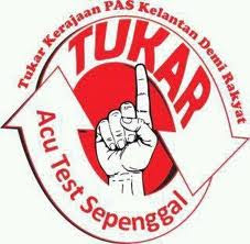 Tukar kerajaan PAS Kelantan