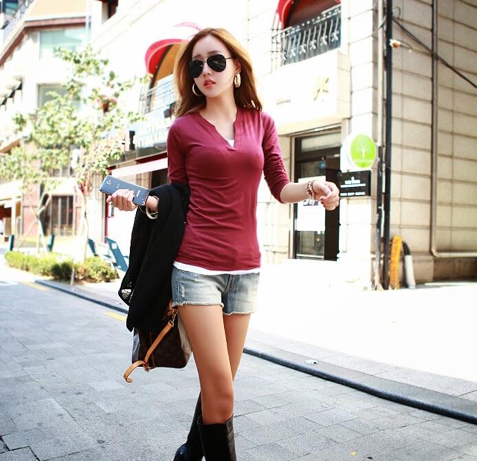 Tips Memadupadan Busana Kasual Ala Korean Style Wanita Dan Gaya Hidup