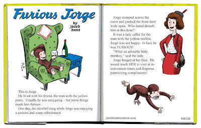 Curious George parody