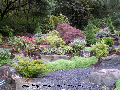 River Rock Garden Ideas Photograph | Garden Decoration in 20