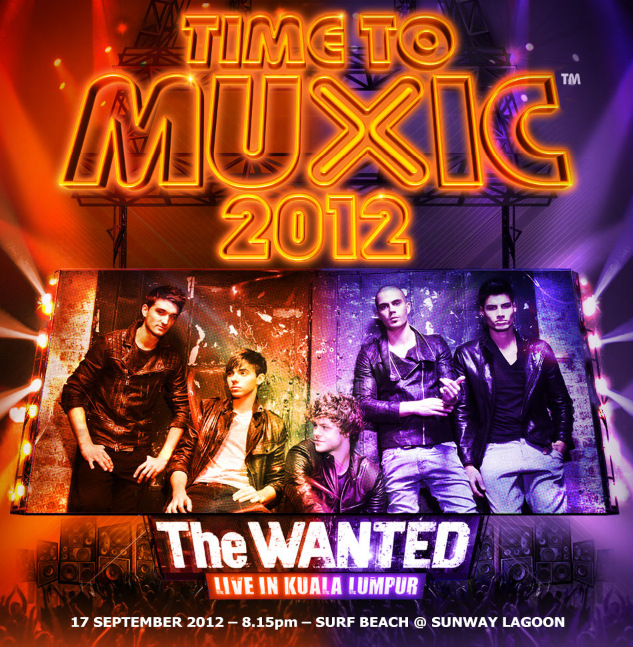 The Wanted Live In Kuala Lumpur Celcom Xpax promotion