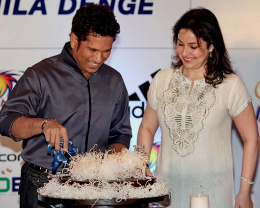 Sachin Tendulkar Birthday celebration Stills