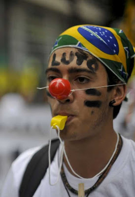 Rio+20: marcha contra Código Florestal  Bolsa ecologia já! Foto Marcello Casal Jr-ABR