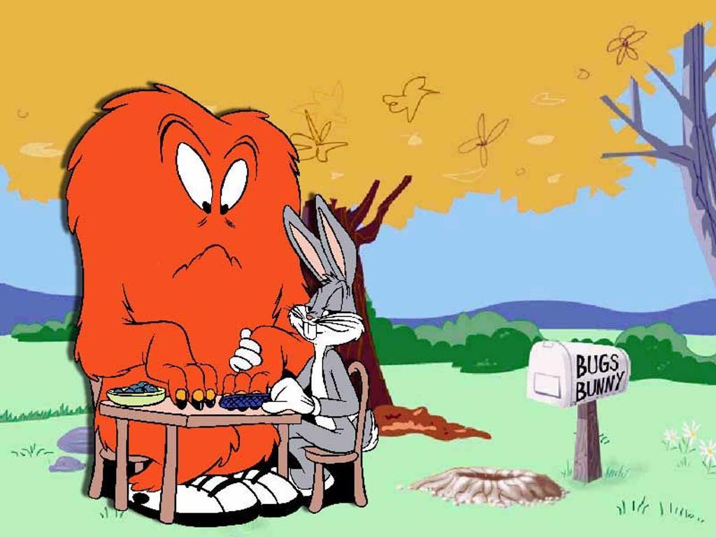 Darcy Cruz Bugs Bunny Wallpaper
