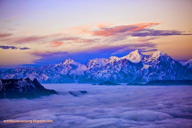 Mùa đông ở dãy núi Himalaya 6