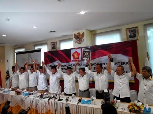 Deklarasi PKS Gerindra dukung Prabowo (Foto © Detik.com)